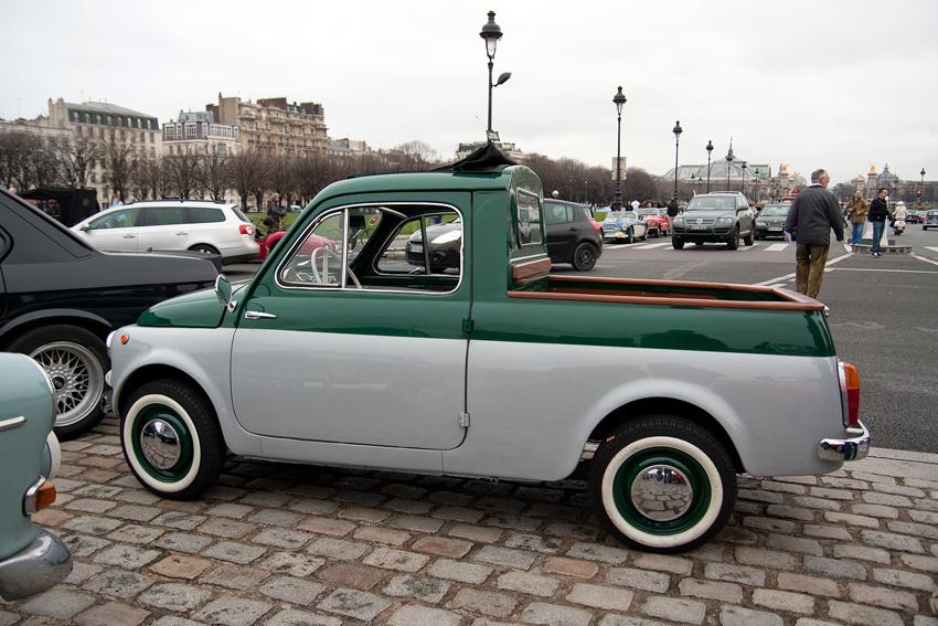 1960–67 Fiat 500 Pickup