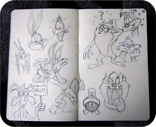 Looney Tunes Sketch