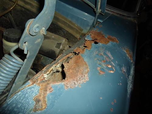 Fender rust