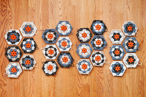 Crochet Quilt Hexagons