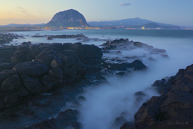 Ebb and Flow on Jeju Island