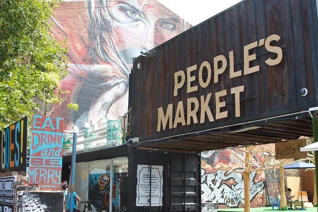 People's Market Entrance