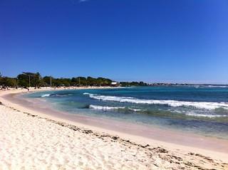 La plage de St François
