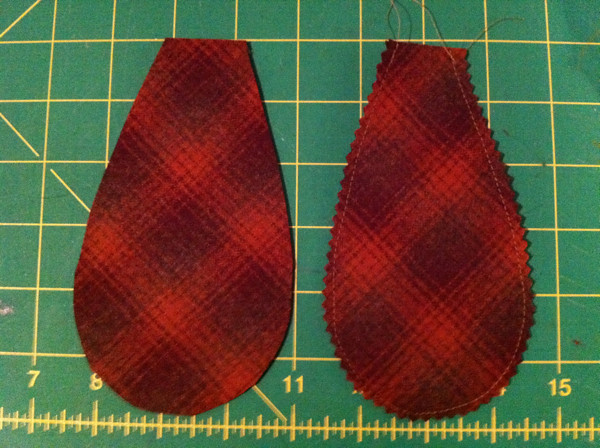 Making plaid ears