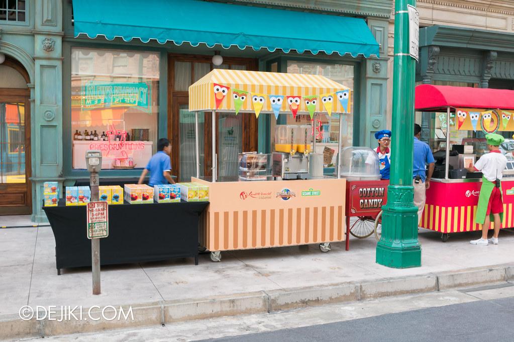Carnival Food stalls