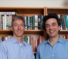 Levitt y Dubner, autores de Freakonomics