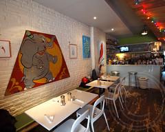Cheryl's Global Soul Cafe, Prospect Heights, Brooklyn, New York City