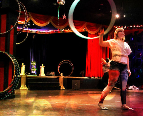 Hooping at the Ann Humpreys Workshop