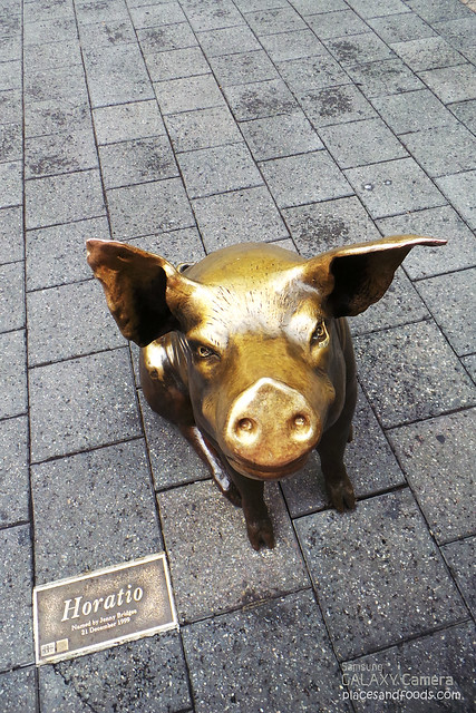 bronze pig horatio