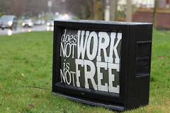 Will Work For Free? by foundimagination