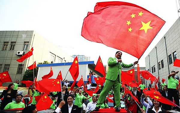 Move aside Donald Trump and Richard Branson, here comes Chen Guangbiao!