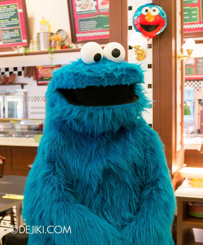 Sesame Street Character Breakfast at Universal Studios Singapore - Cookie Monster
