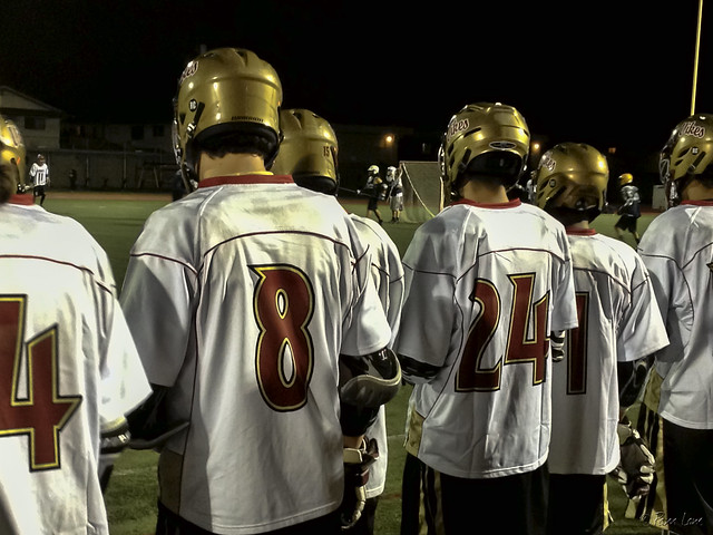 Lacrosse game Downey Vikings