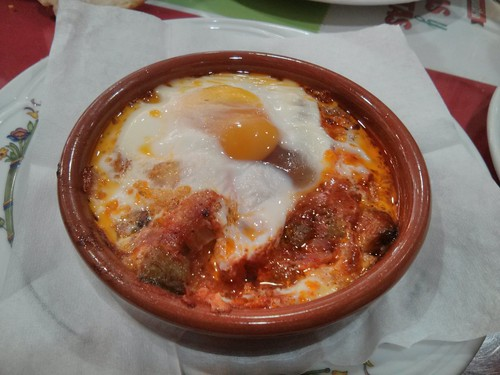Zaragoza | Durán 5 | Cazuela de huevo con hortalizas