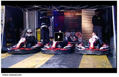 Los karts con Mario Vaquerizo, Pablo Motos y Antonio Lobato El Hormiguero Antena 3 2013