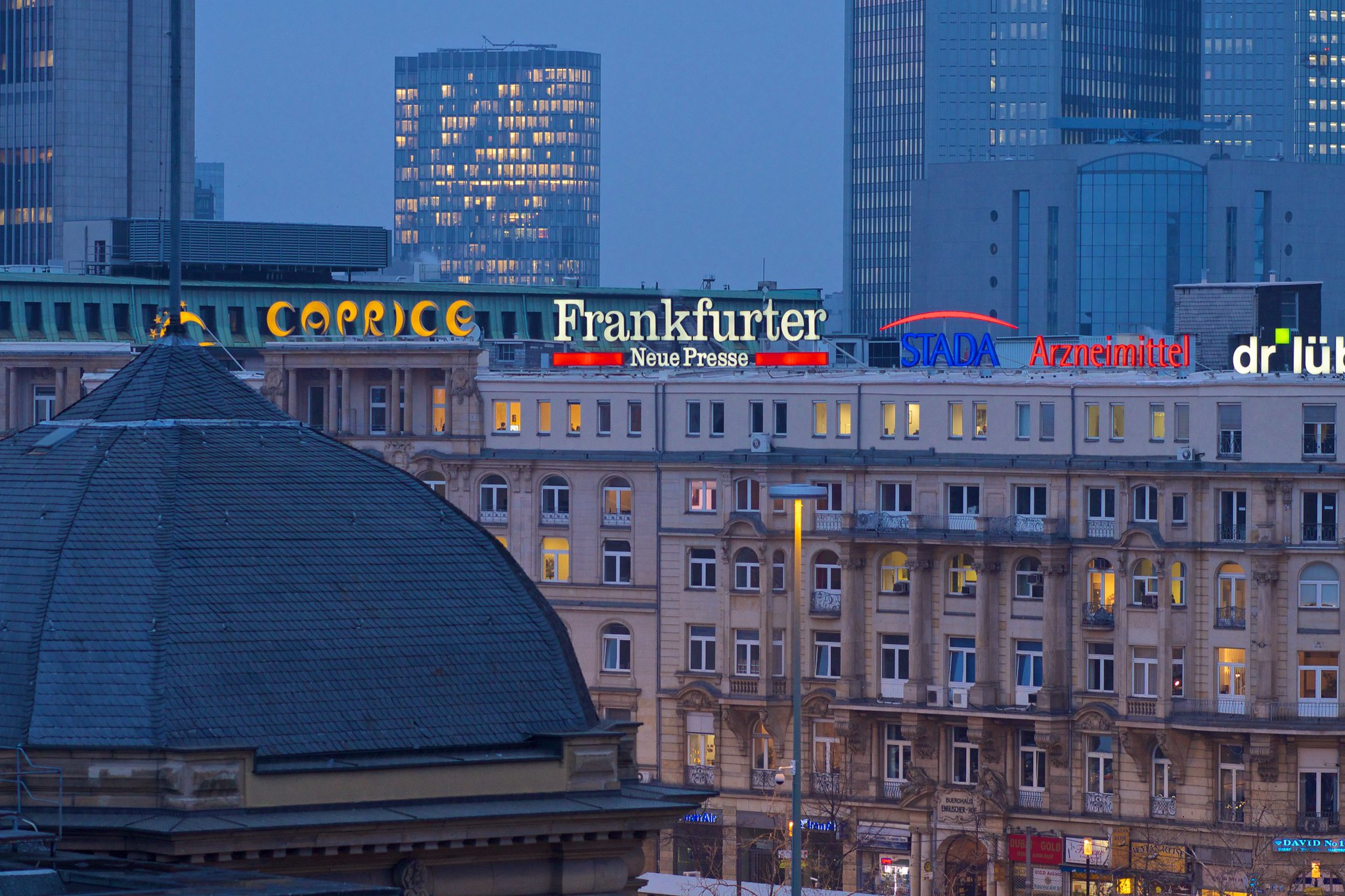 Hotel Excelsior Frankfurt Germany