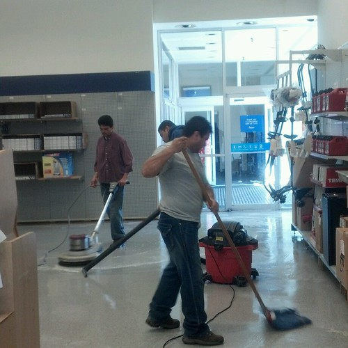 CBM floor cleaning