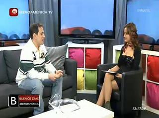 Entrevista en Iberoamérica Televisión