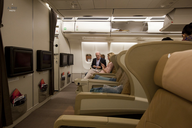 Image result for singapore airlines a330 business class row 11