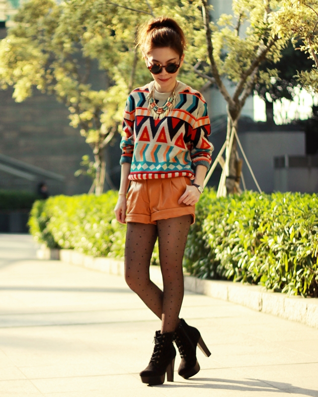 Aztec & Necklace Layering