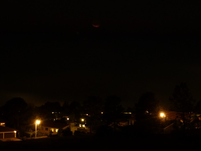 Red Crescent Moonset