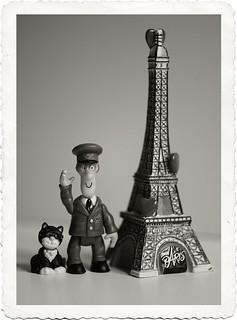 Postman Pat in Paris