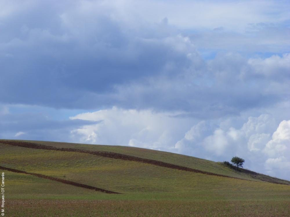 Rougier de Camarès nuageux
