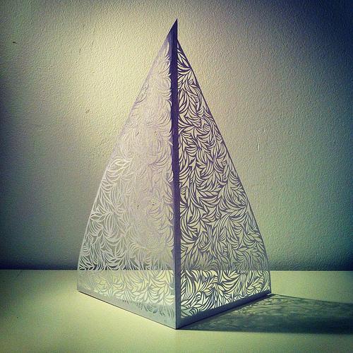 Cut-Paper-Pyramid