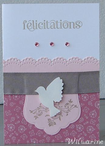 carte félicitations communion