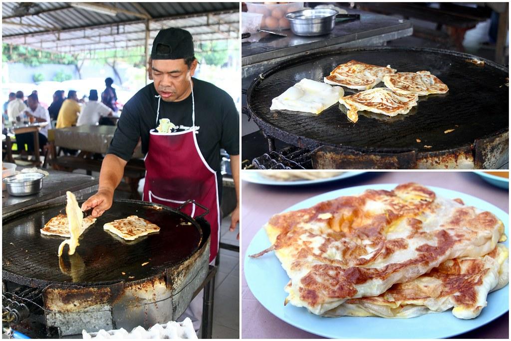 Malaysian Food Trail with Johor Kaki: Roti Canai Bukit Chagar