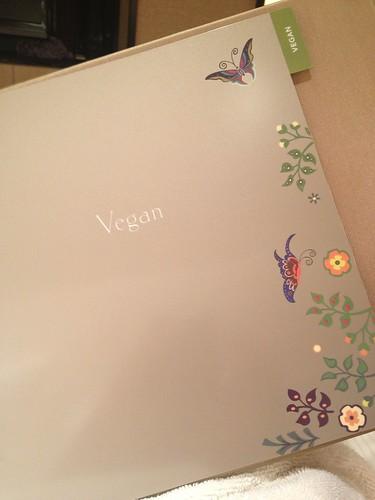 Vegan Room Service menu at Encore Las Vegas