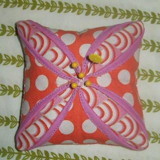 The cathedral pincushion (better picky).  I used @gogokim tute :)