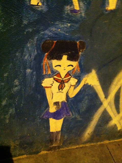 Sailormoon street art