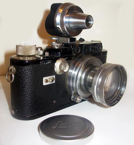 Leica III, fabricada en el año 1933, número 118270. by Octavi Centelles