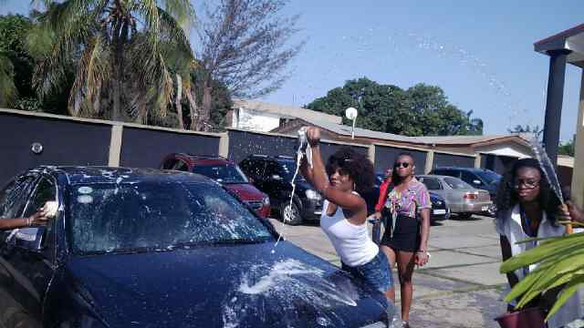 Juliet Ibrahim Foundation Divas Car wash