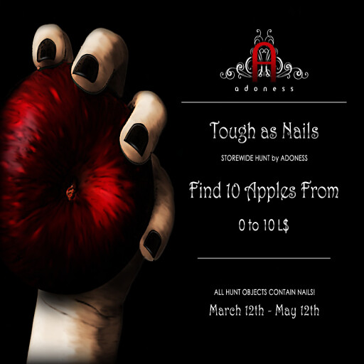 adoness_ tough as nails_ promo2