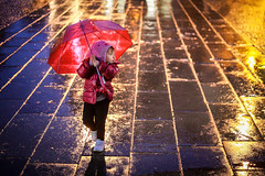 [Free Images] People, Children - Little Girls, Umbrella ID:201303261600