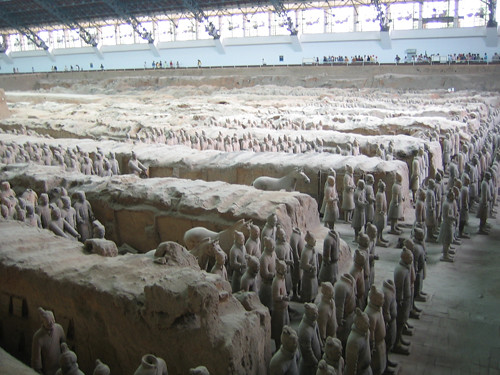 IMG_4960 - Terracotta Warriors in Qin Shi Huang's Tomb, Xi'an, China, 2007