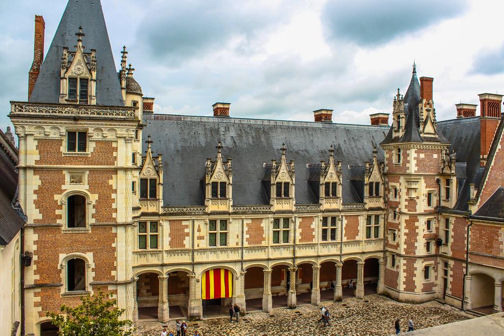 Le Château de Blois (aile louis XII)