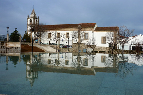 Portugal, Castelo Branco - church over water