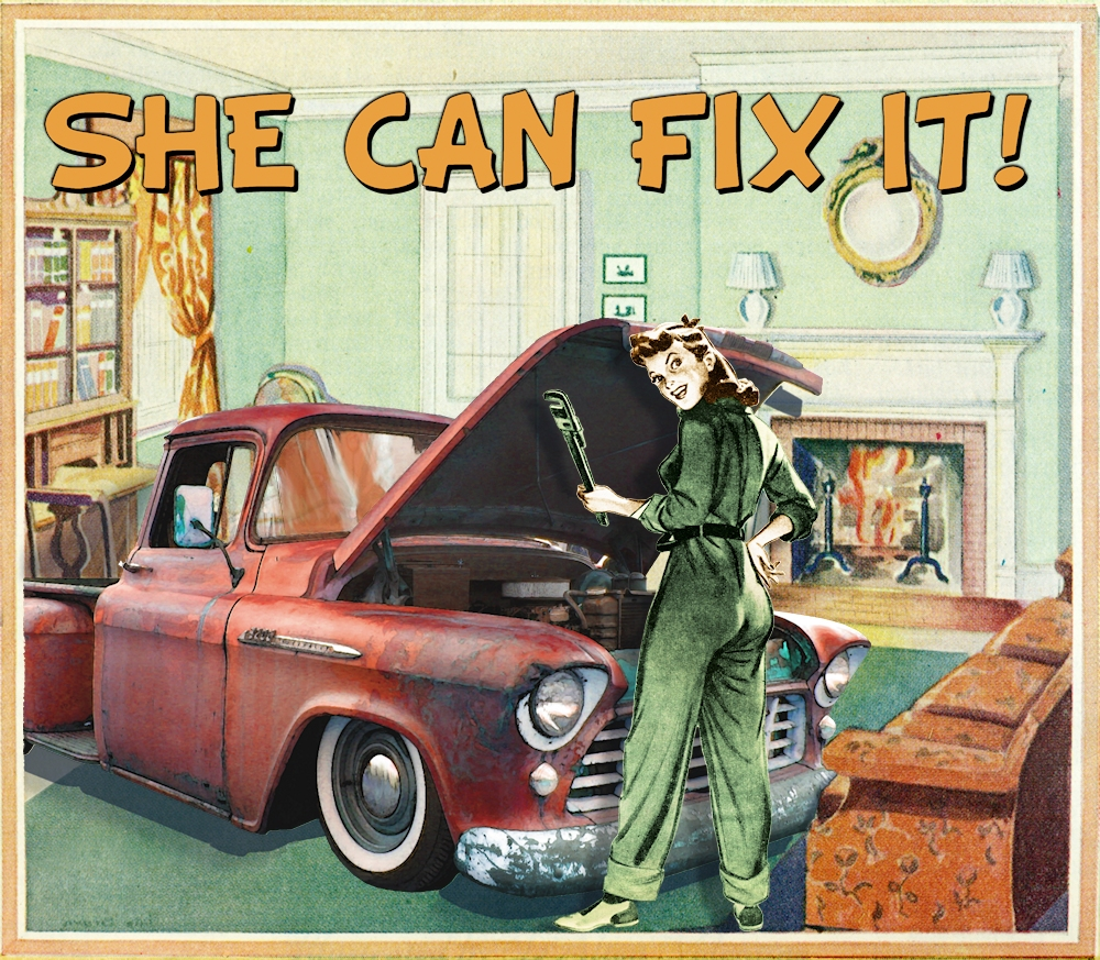 She Can Fix It!