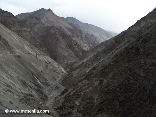 Barranco en el Himalaya