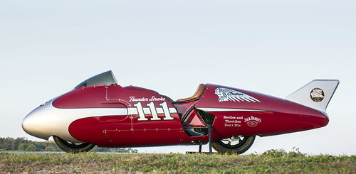 New Indian Motorcycle Spirit of Munro Streamliner by bullittmcqueen