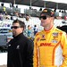 Ryan Hunter-Reay and Michael Andretti