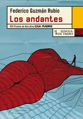 Los andantes Federico Guzmán Rubio portada libro relatos Lengua de trapo