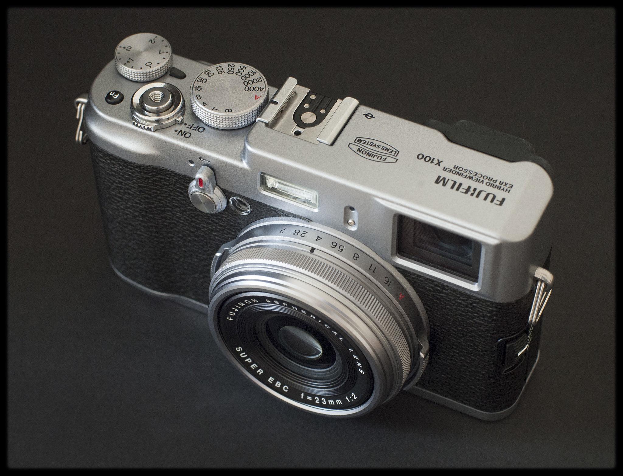 Infra-Edd: Cameras - Fuji X100 & The Hoya R72 Filter