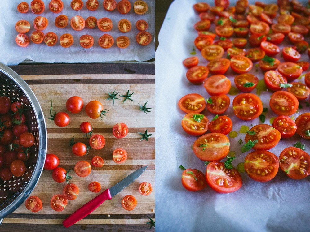 Slow-roasted Cherry Tomatoes