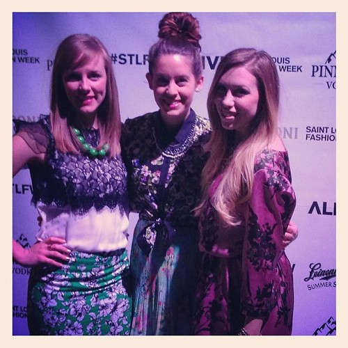 Arrived! @alivemagstl #stlfw with @rightshoesblog @styletab