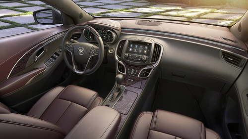 2014 Buick LaCrosse Ultra Luxury Interior Package