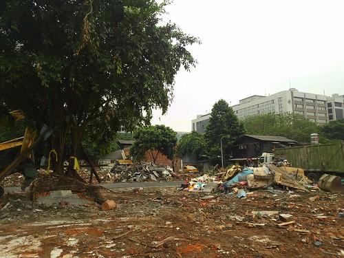 華光社區第一波拆除區